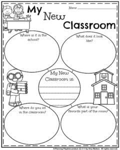 Informative Back to School Writing Prompts - My New Classroom.