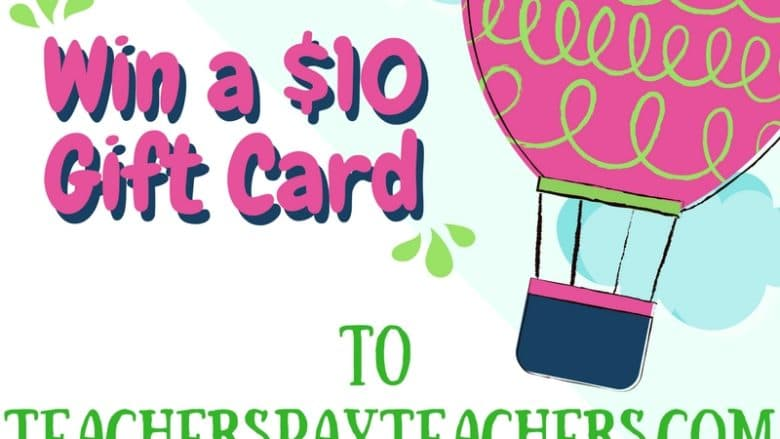 Back to School Gift Card Giveaway