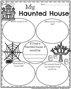 how to write a haunted house business plan