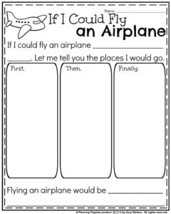September Writing Prompts - Narrative: If I Could Fly an Airplane.
