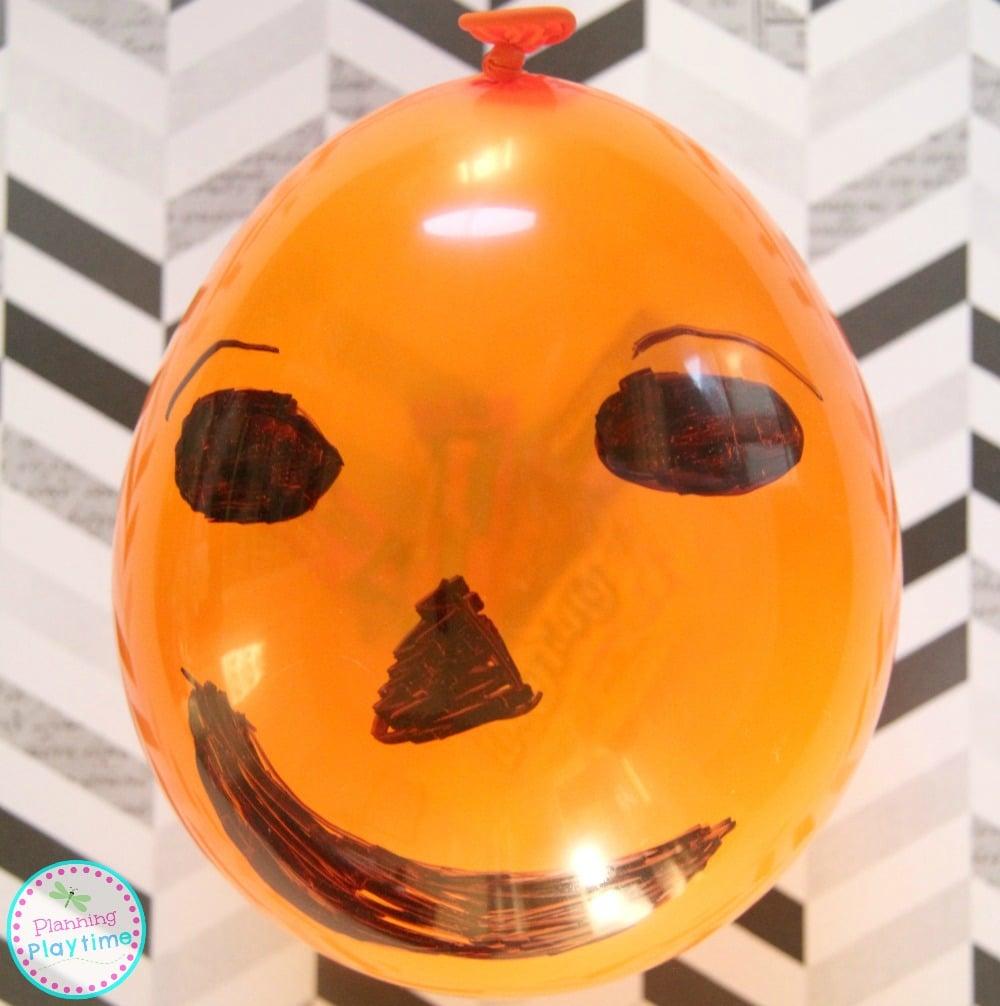 Individual Pumpkin Pinatas for Halloween - Fun party favor and craft.