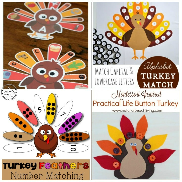 10 FREE Educational Activities for Thanksgiving. Lots of learning fun.