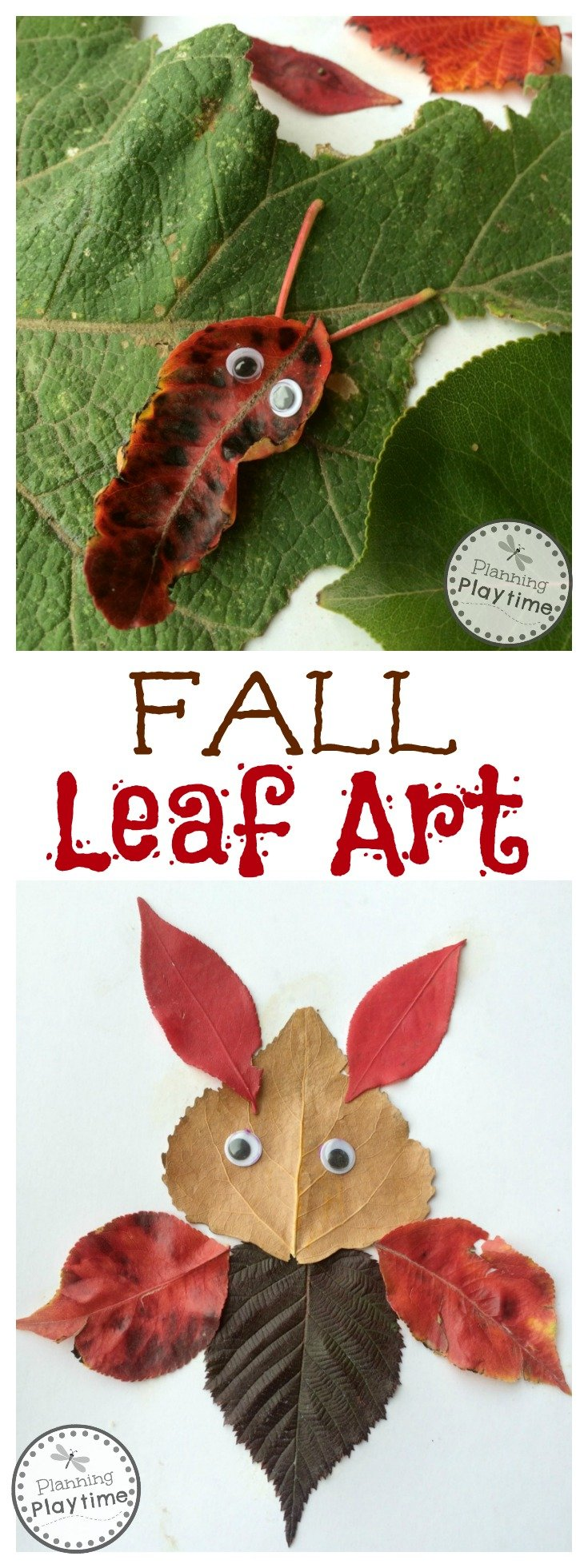 Educational Activities with Fall Leaves - Fall Leaf Art.