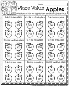 Place Value Free Worksheets Worksheets for all | Download and ...