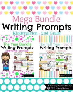Full Year Writing Prompts - The Mega Bundle