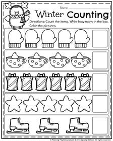 December Preschool Worksheets - Planning Playtime