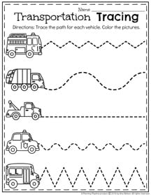 Means of Transportation - Air, Land and Water - Kindergarten and ...
