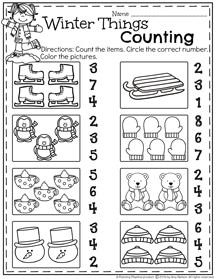 january preschool worksheets planning playtime. Black Bedroom Furniture Sets. Home Design Ideas