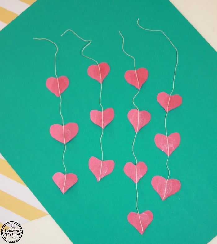 Cute Valentine's Day Craft for kids.