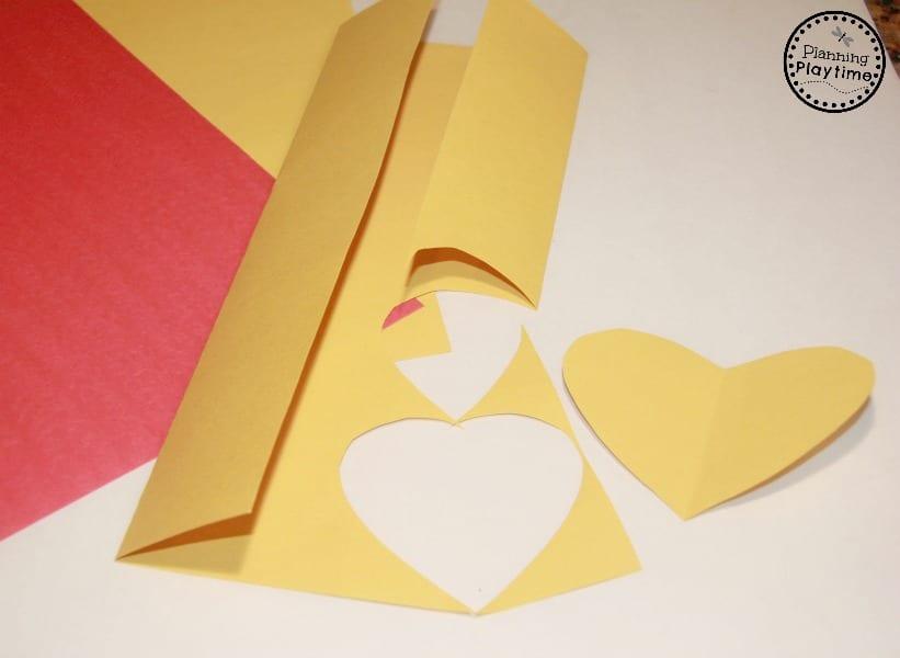 DIY Emoji Valentines craft for kids.