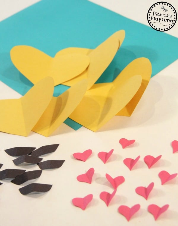 Easy DIY Emoji Valentines craft for kids.