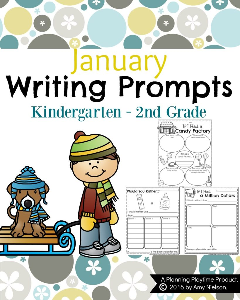 Free 2nd grade writing prompts worksheets