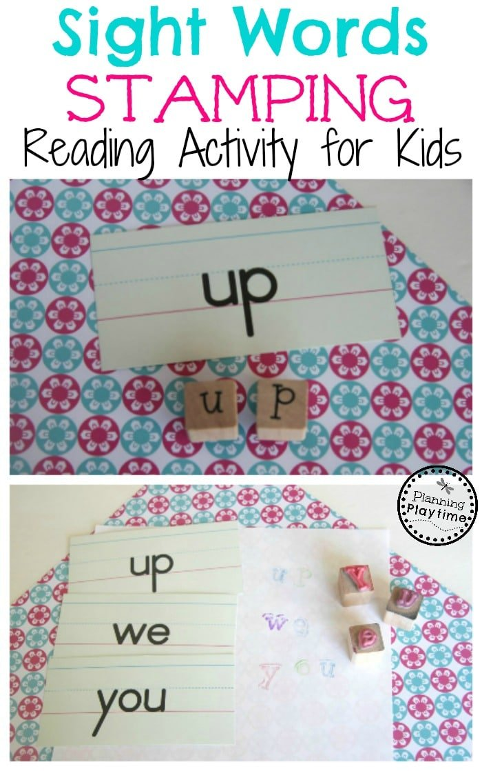 Sight words stamping activity for kids planning playtime save i was able to sort my sight words sciox Image collections