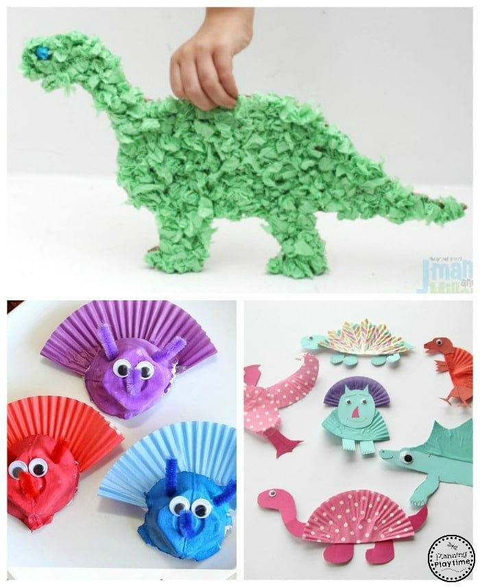 10 awesome dinosaur crafts for kids planning playtime for Dinosaur crafts for toddlers