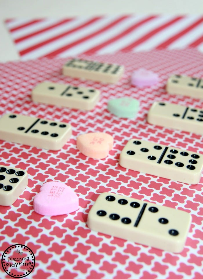 Valentine's Day Math Activity for kids - Comparing Numbers