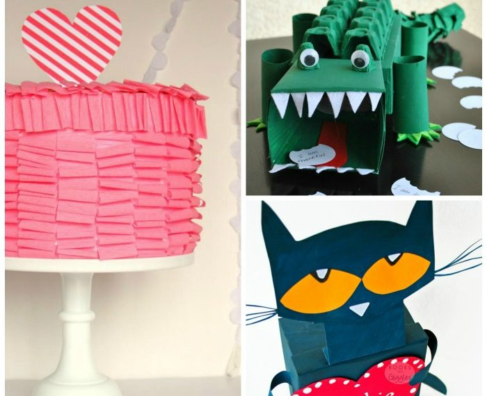 12 Cute Valentines Boxes for Kids. - So fun!