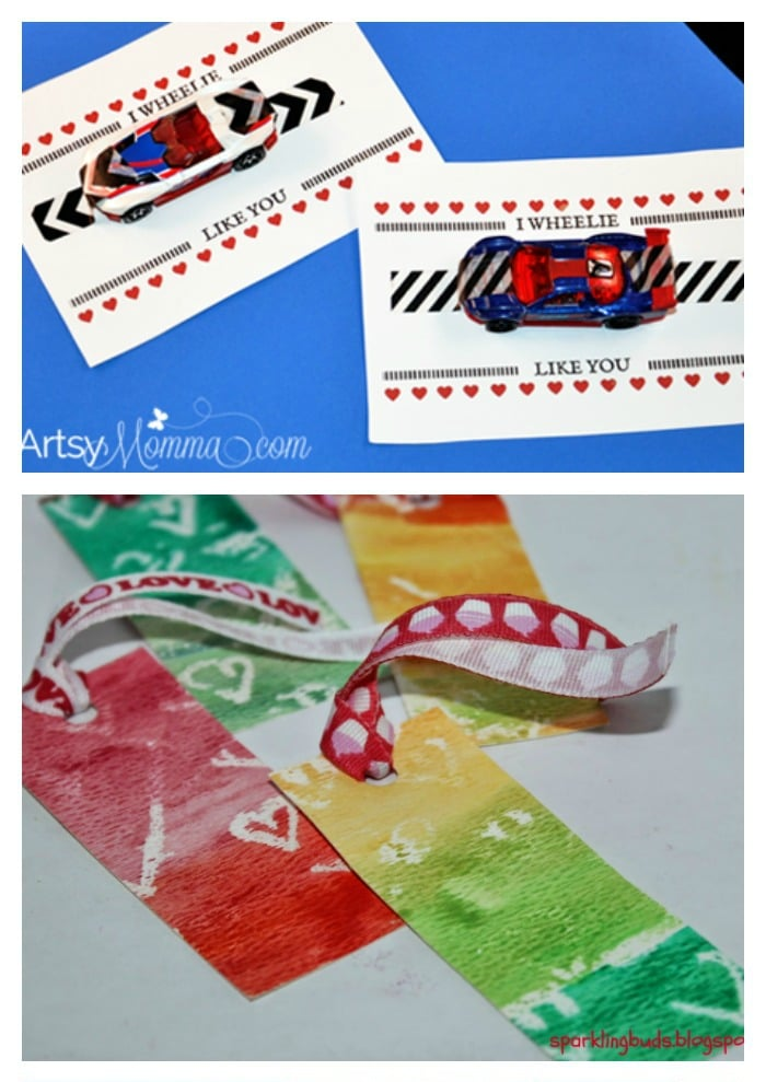 Awesome Non Candy Valentine Ideas for kids.