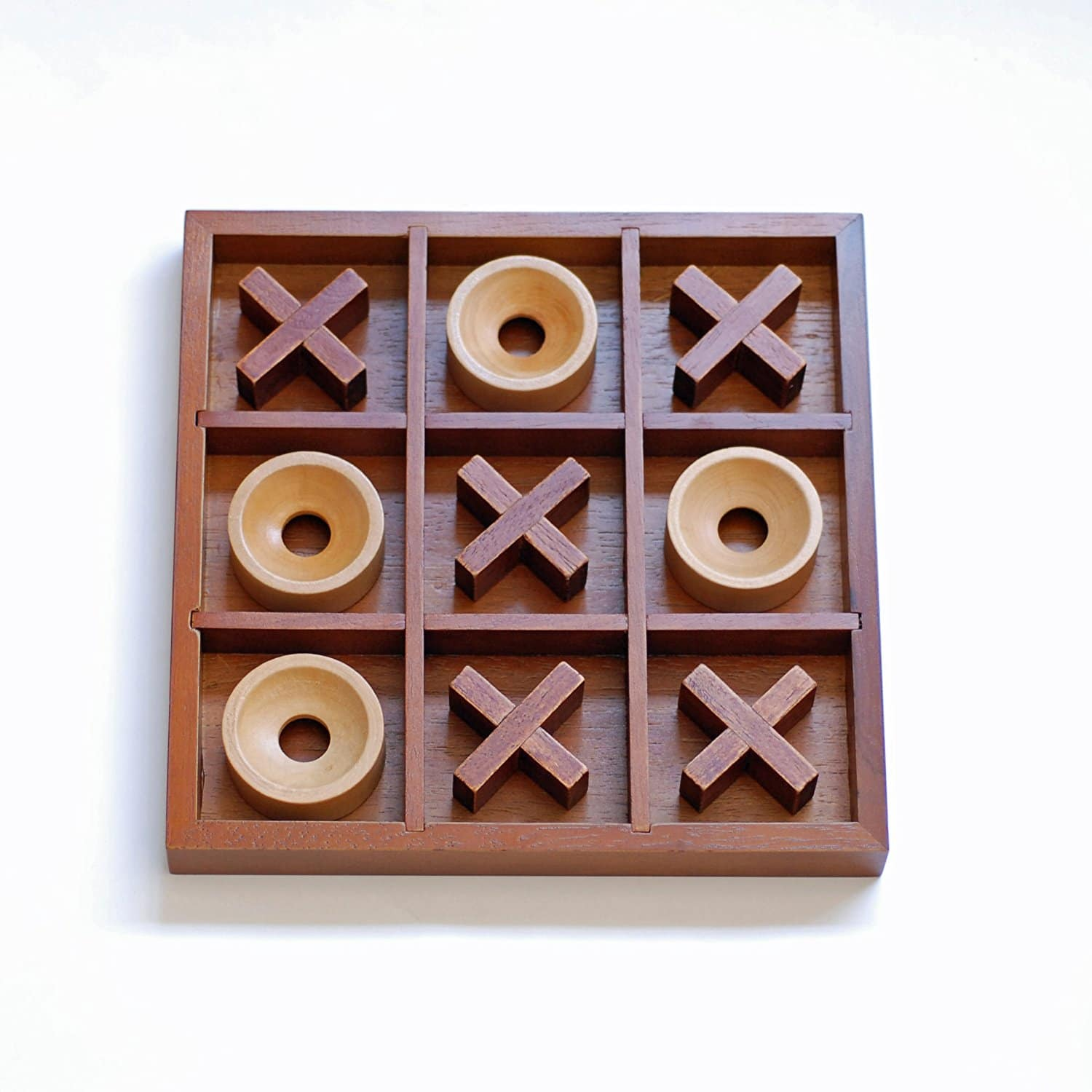 Coffee Table Tic Tac Toe Set