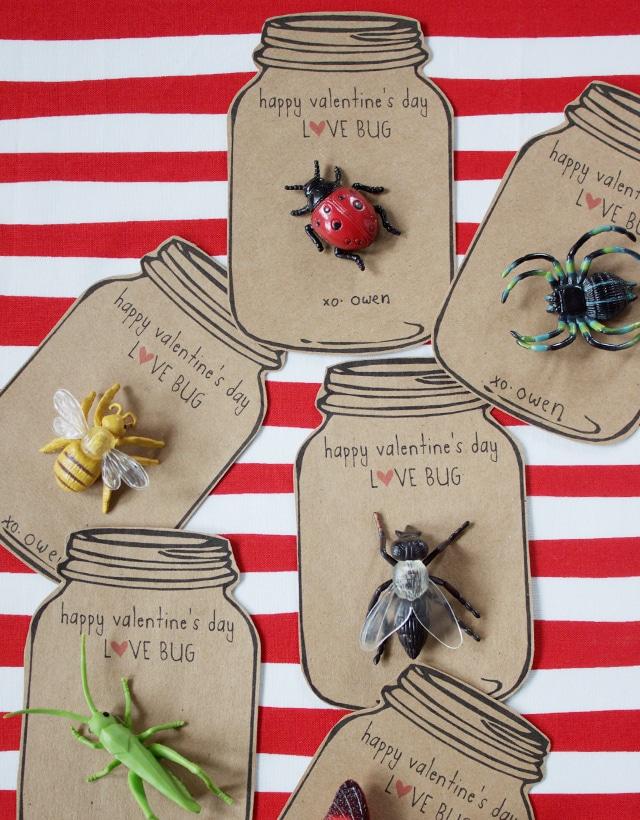 Cute DIY Valentines for Kids.