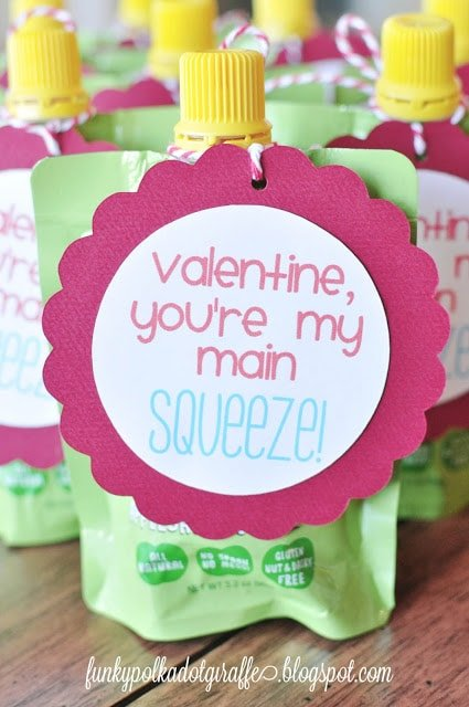 Cute Non-Candy Valentine for kids.