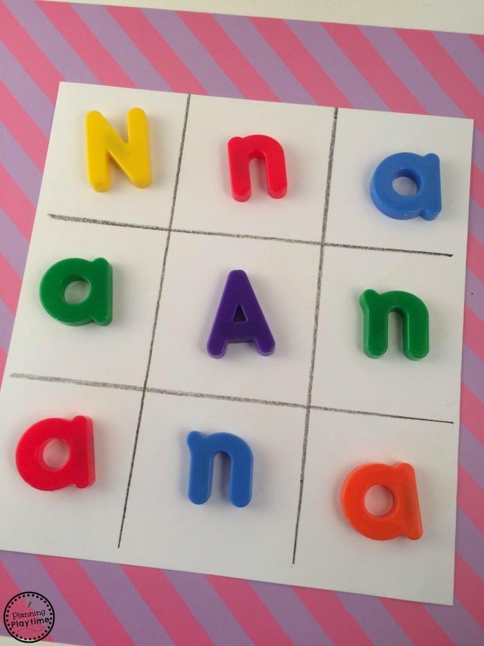 Preschool Letter Recognition Game