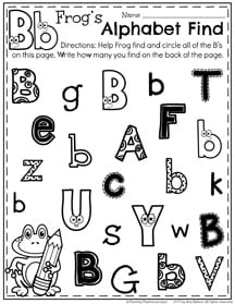For These Pages The Kids Will Get To Color Fun Block Letters With Cute Faces Then They Can Cut And Paste Lowercase Letter Under It S