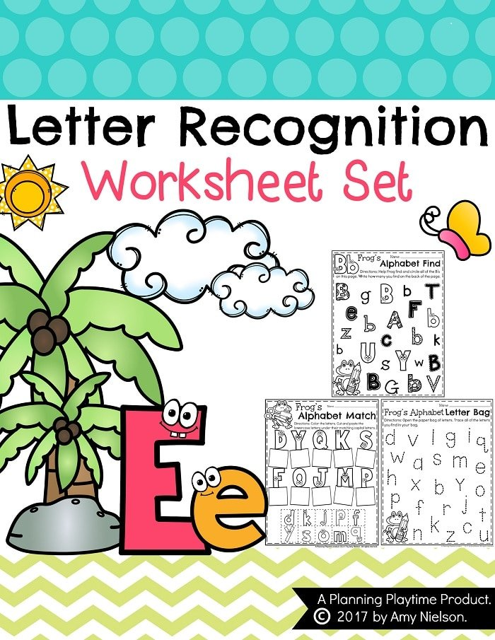 Worksheet Letter Recognition Worksheets letter recognition worksheets planning playtime worksheets