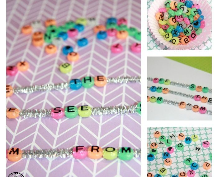 Sight Words Beading Activity