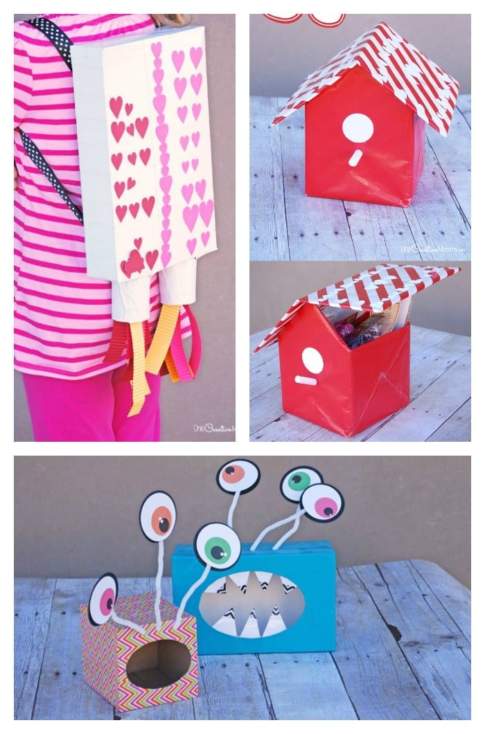 Valentine Boxes for kids.