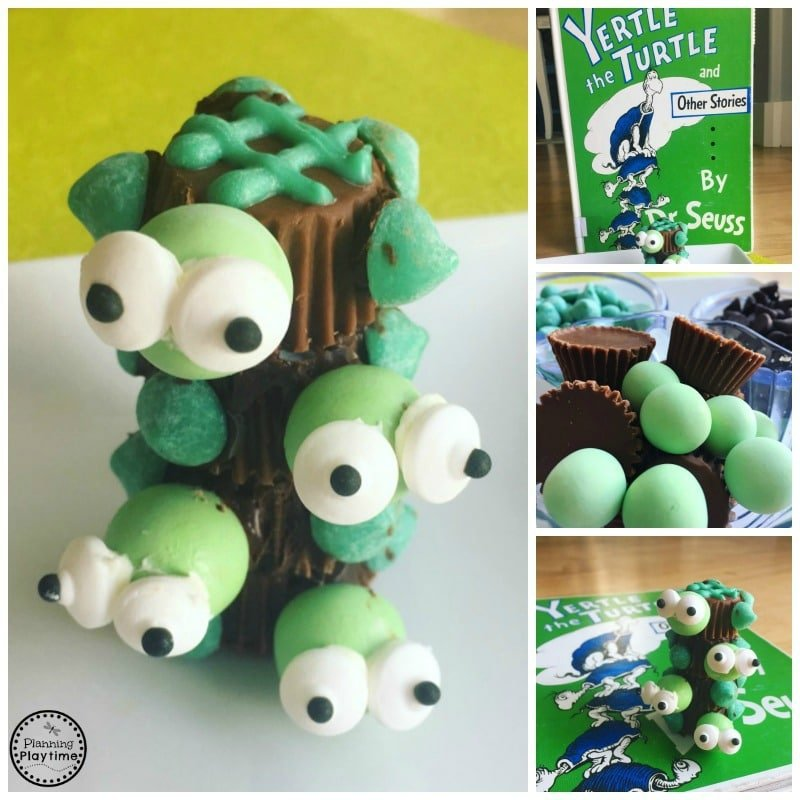 Yertle the Turtle Craft for Dr. Seuss Week.