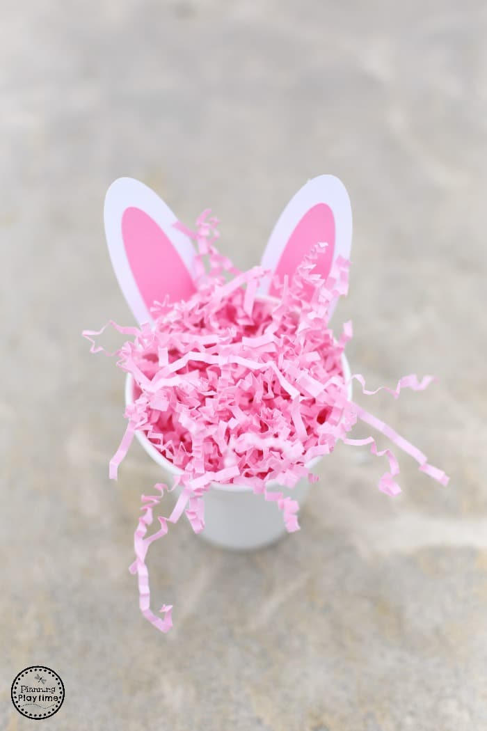 Bunny Ears Snack Cup for Kids