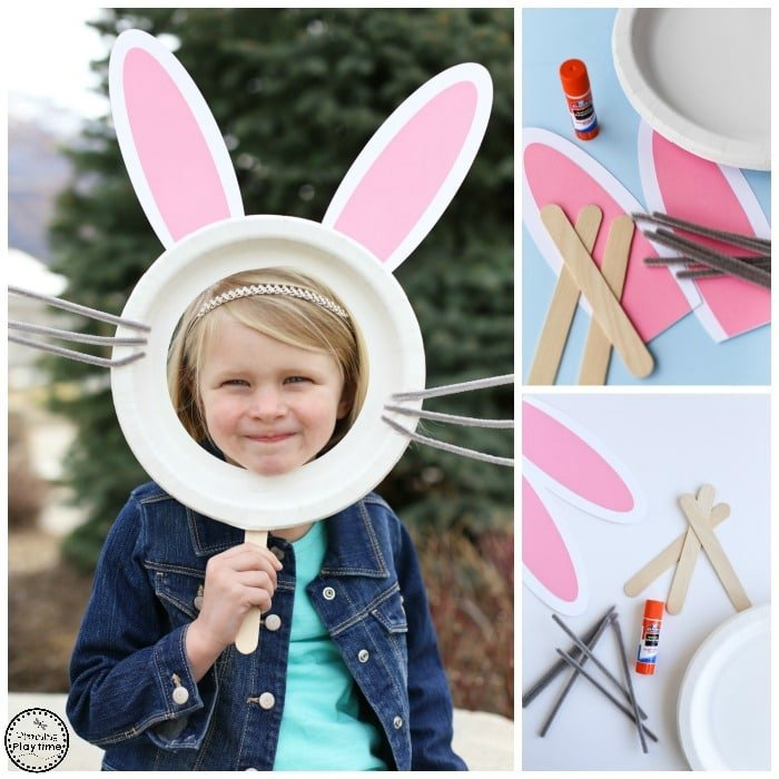 Bunny Mask For Kids Planning Playtime