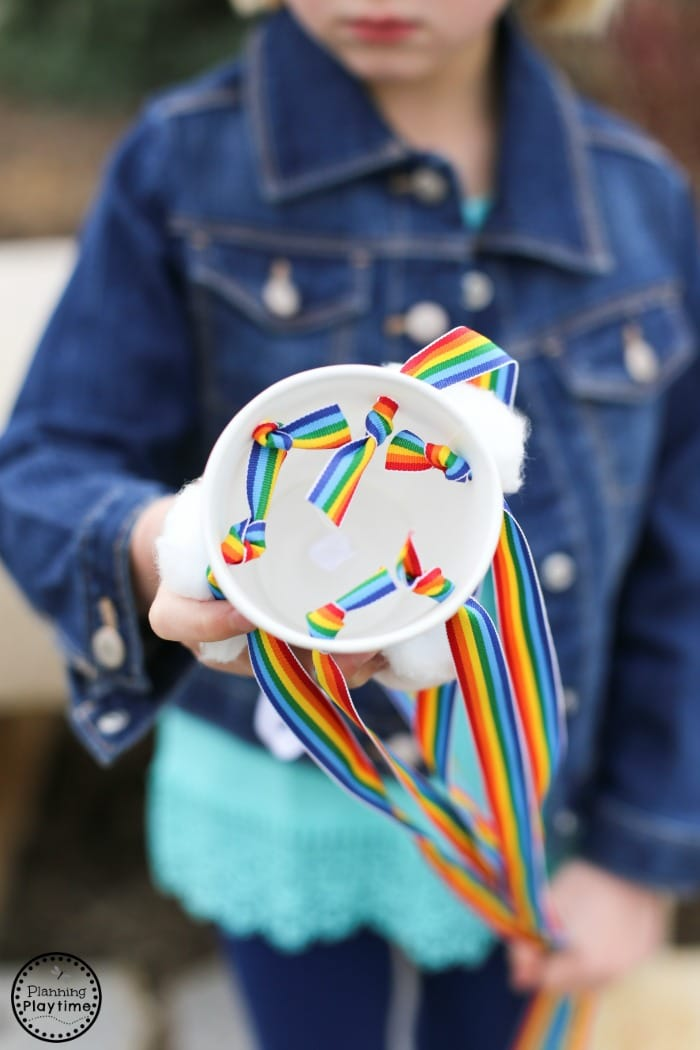 DIY Rainbow Windsock Craft for Kids
