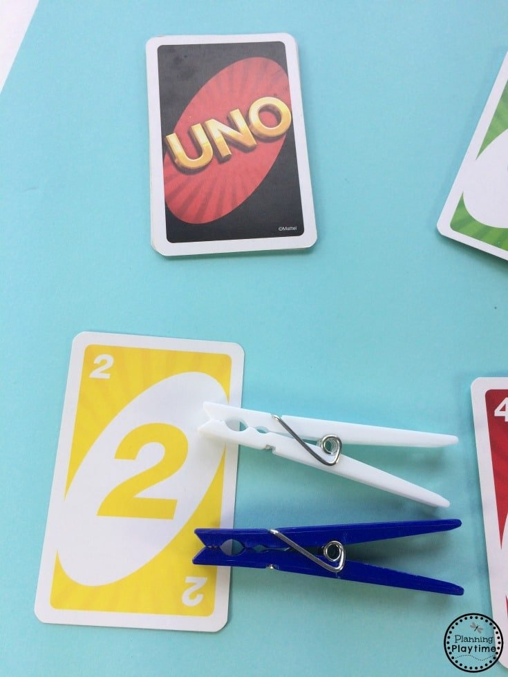 Fun Easy Preschool Counting Activity for kids.