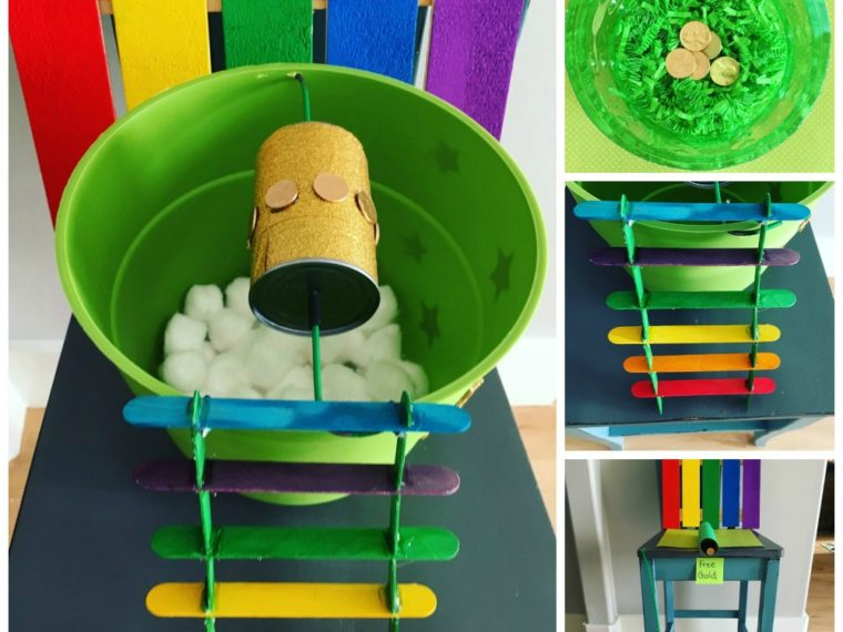 Leprechaun Trap Ideas for kids.