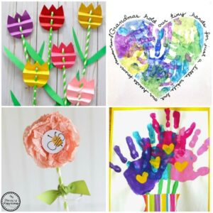 15 Cute Mother's Day Crafts for Kids