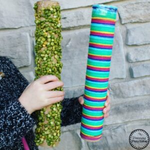 5 Sensory Rain Stick Crafts for Kids.