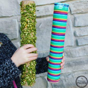 Five Sensory Rain Stick Crafts for Kids