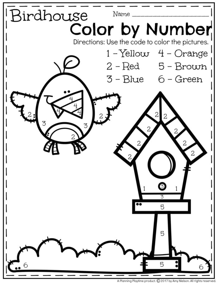 color by number preschool worksheets may preschool worksheets planning playtime 748