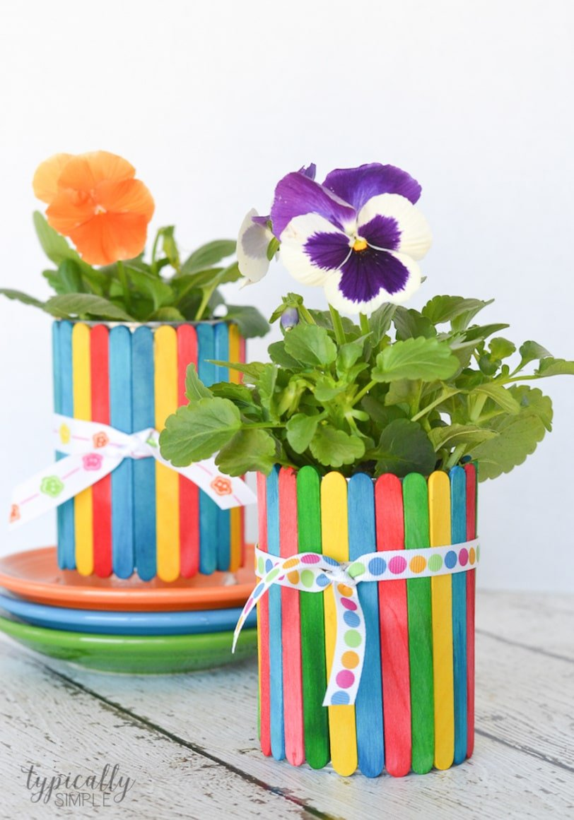 15 Cute Mothers Day Crafts For Kids Planning Playtime