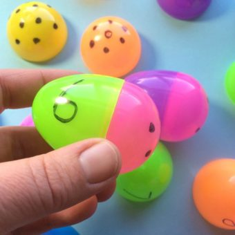 Easter Counting Activity for Preschool
