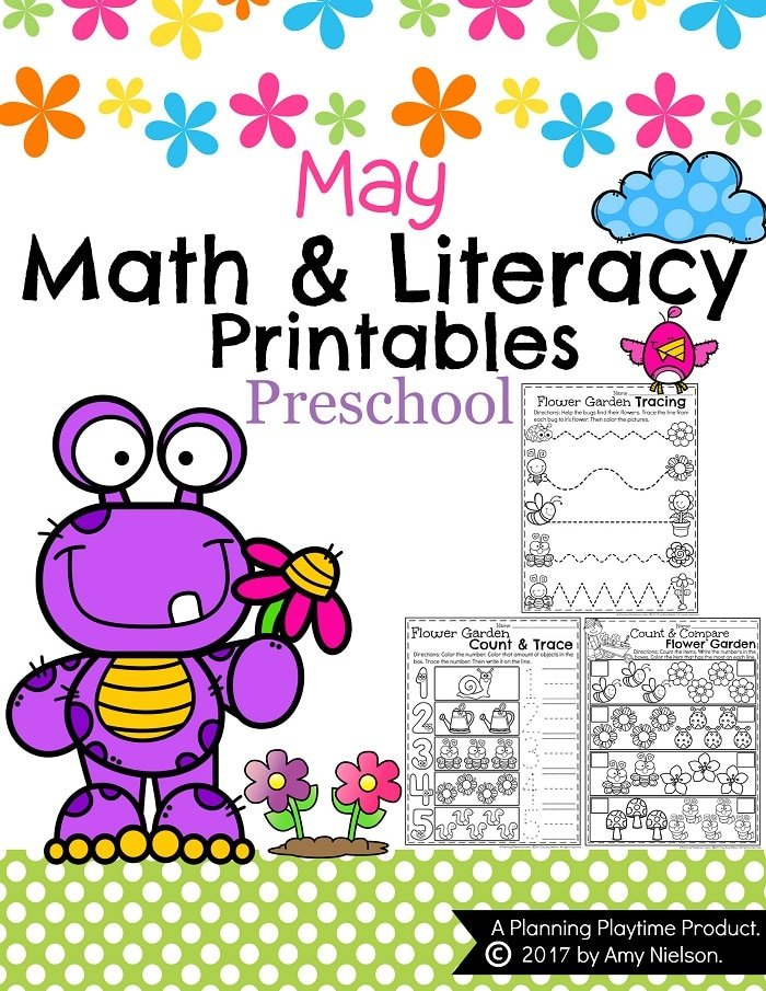 May Preschool Worksheets Planning Playtime