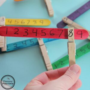 Missing Number Math Activity for Kids