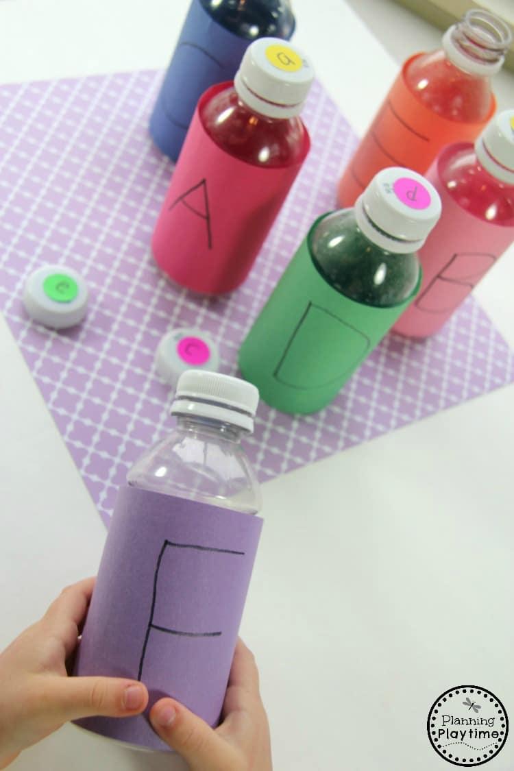 Preschool Letter Matching Activity for kids.