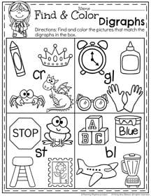 First Grade Summer Worksheets - Planning Playtime