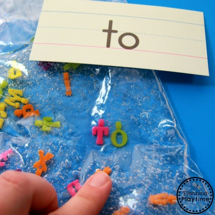 Seek and Spell Activity for Kids