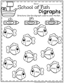 Summer Literacy Worksheets for First Grade