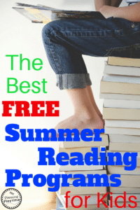 The Best FREE Summer Reading Programs for Kids
