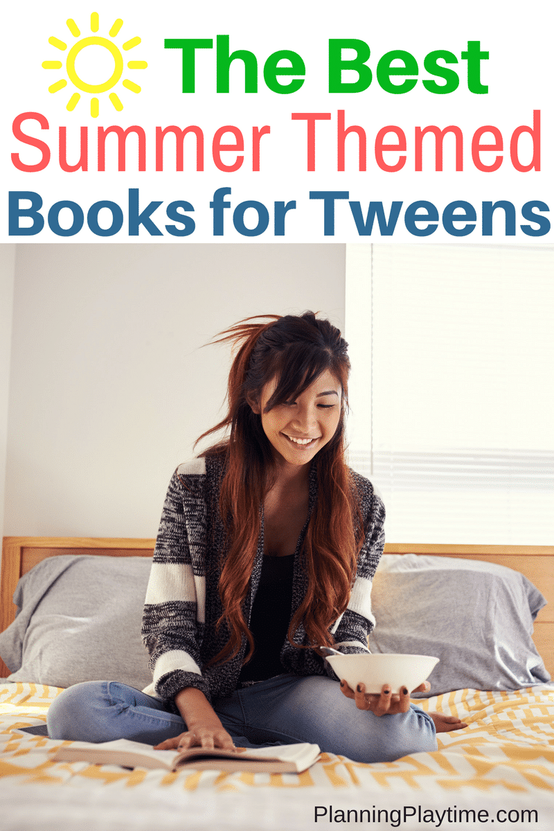 The Best Summer Themed Book list for Tweens