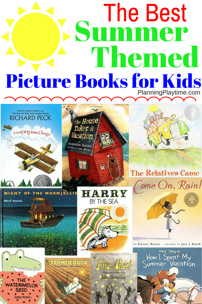 The Best Summer Themed Picture Books for Kids